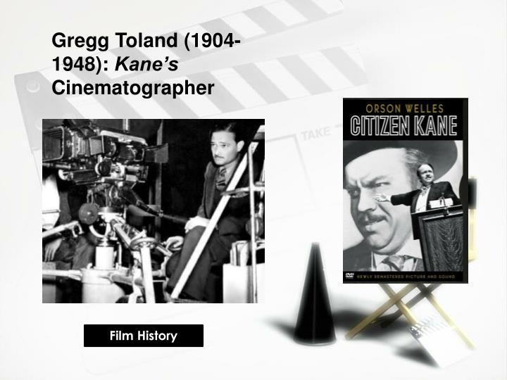 Gregg Toland (1904-1948):