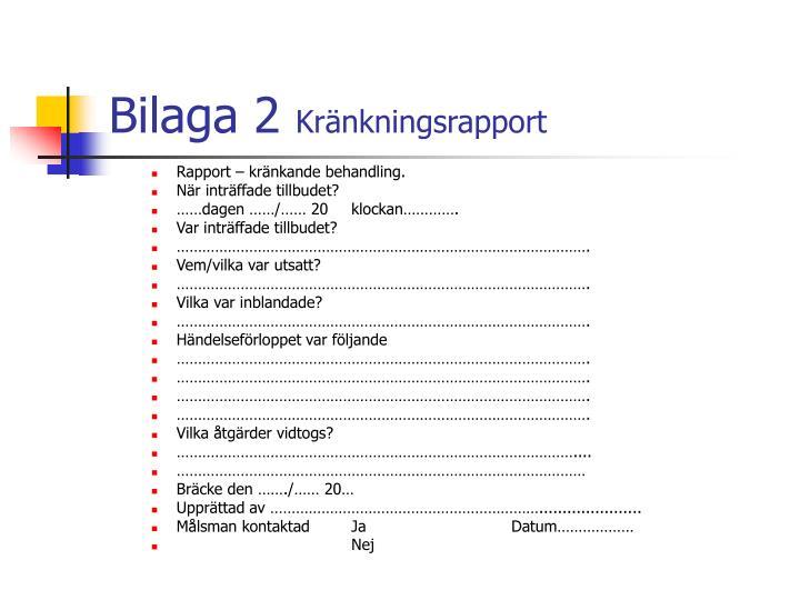Bilaga 2