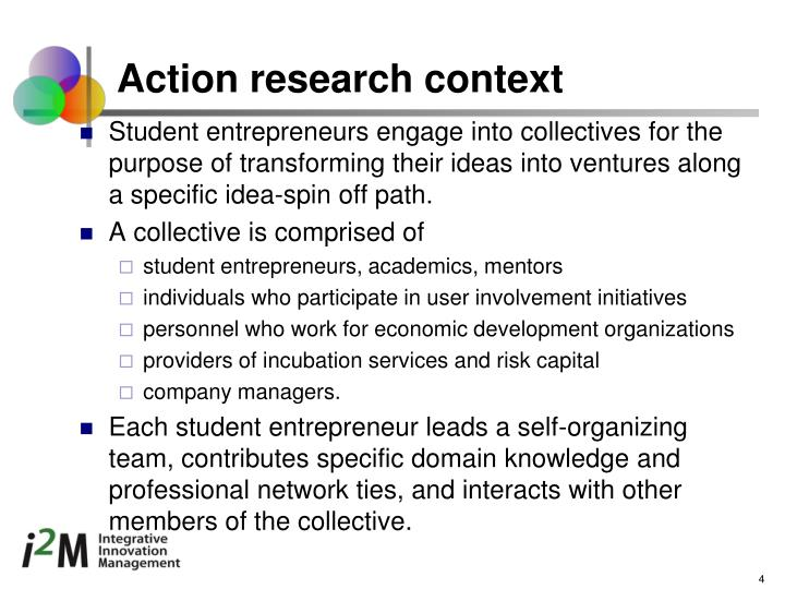 Action research context