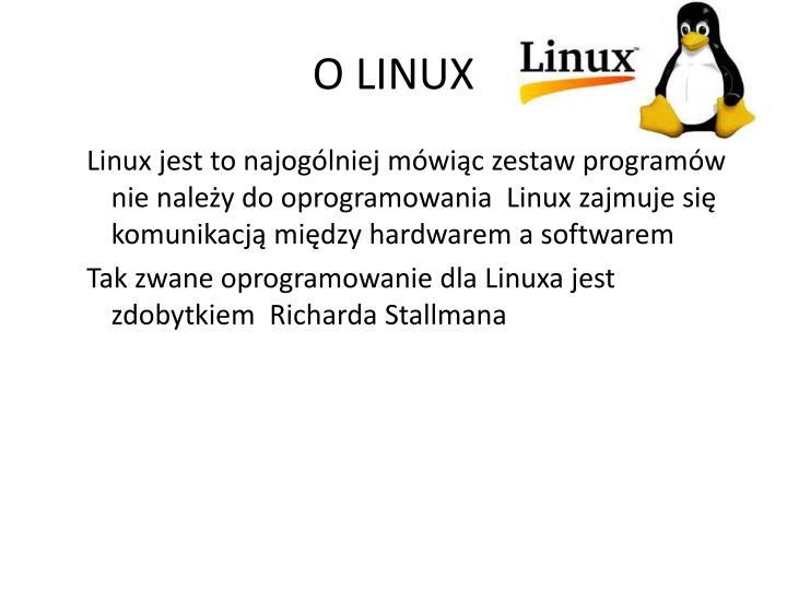 O LINUX