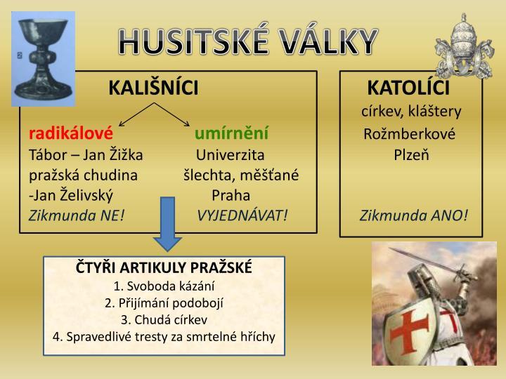 HUSITSKÉ VÁLKY
