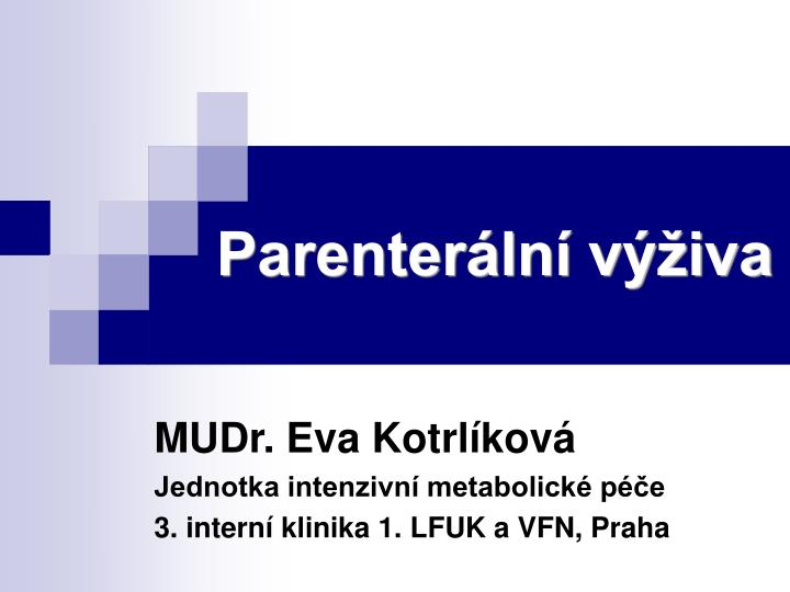 Parenter ln v iva