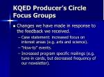 kqed producer s circle focus groups3