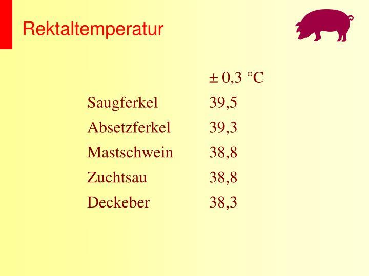 Rektaltemperatur
