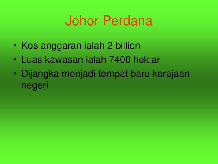 Johor Perdana
