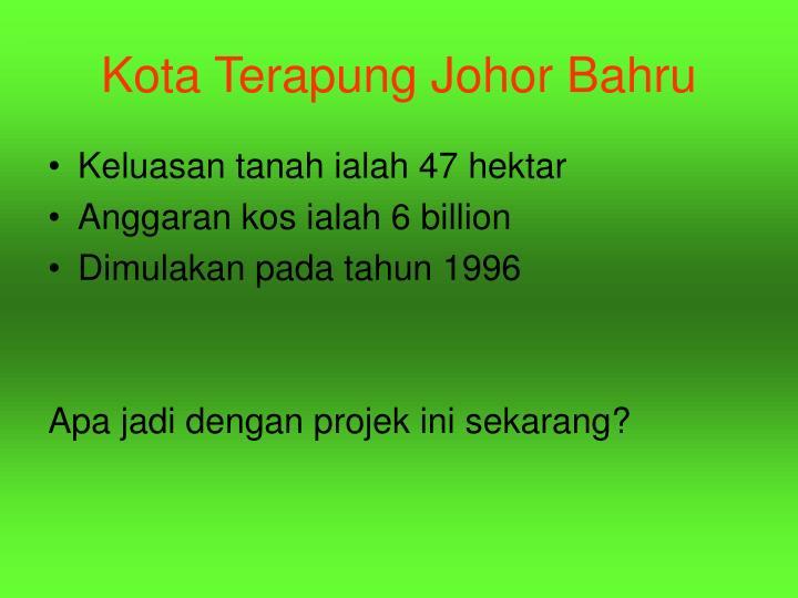 Kota Terapung Johor Bahru