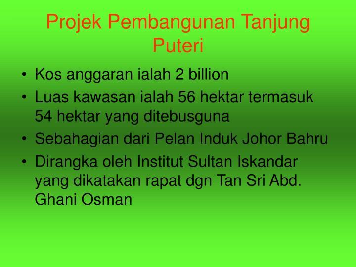 Projek Pembangunan Tanjung Puteri