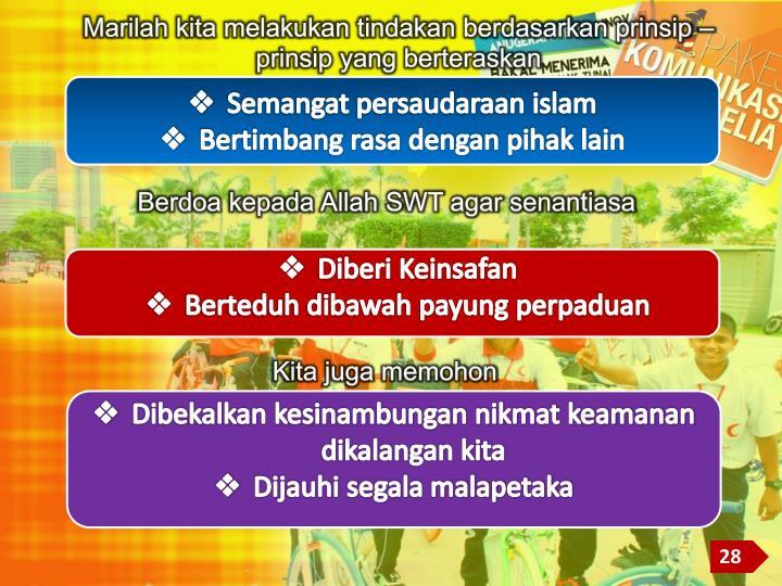 Semangat persaudaraan islam