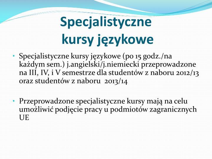 Specjalistyczne