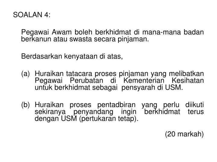SOALAN 4: