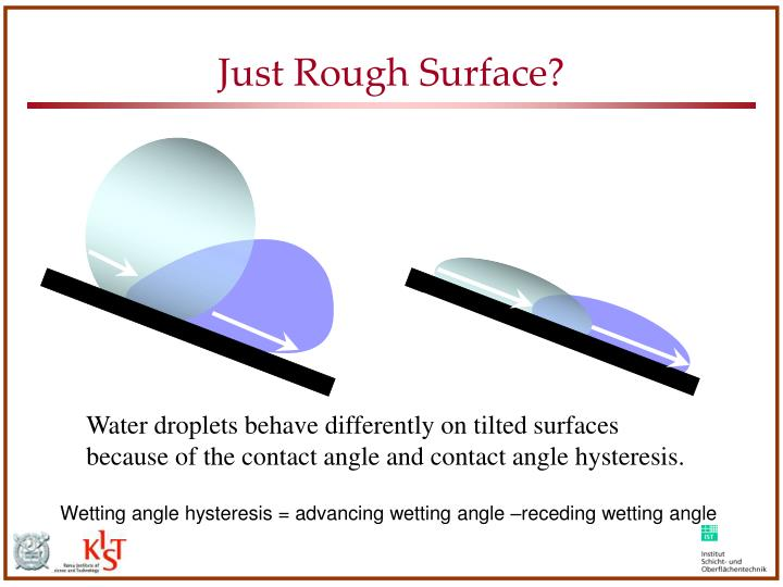 Just Rough Surface?