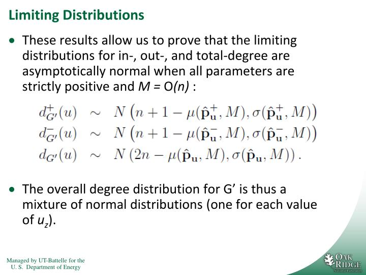 Limiting Distributions