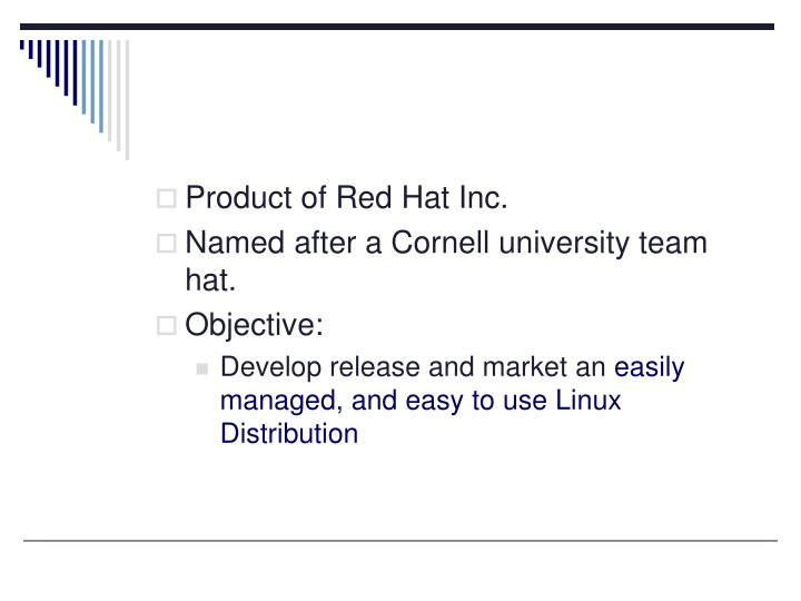 Product of Red Hat Inc.