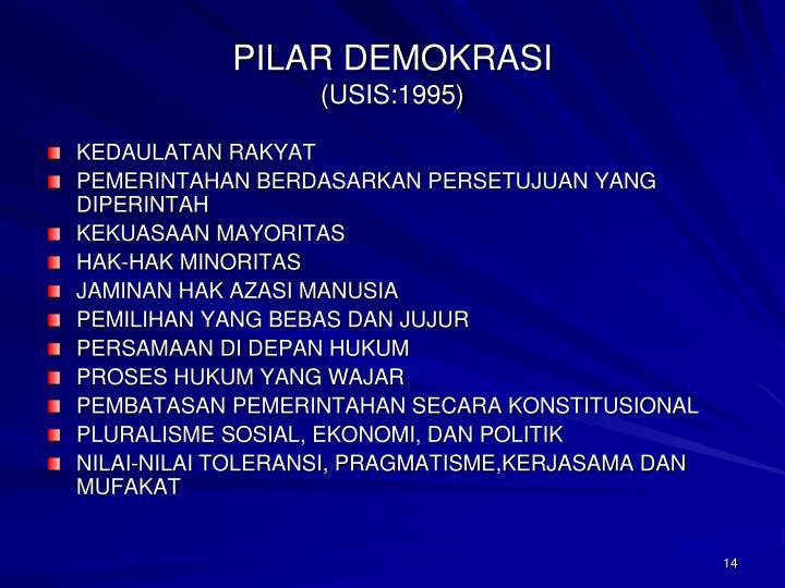 PILAR DEMOKRASI
