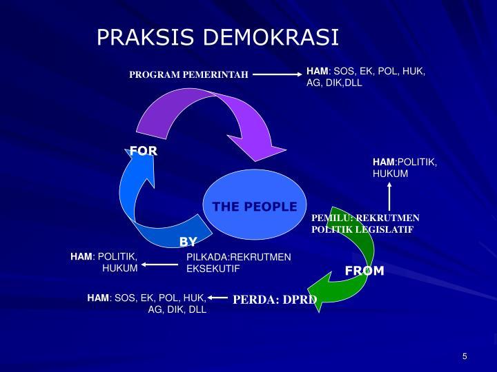 PRAKSIS DEMOKRASI