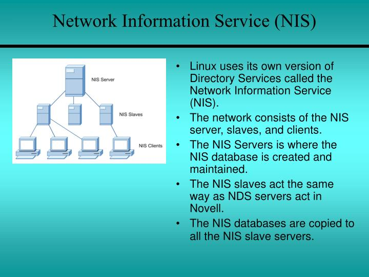 Network Information Service (NIS)