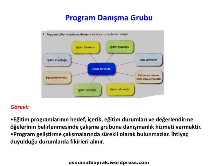Program Danışma Grubu