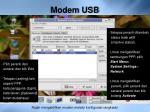 modem usb4