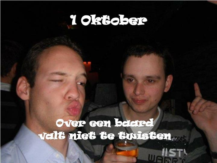 1 Oktober