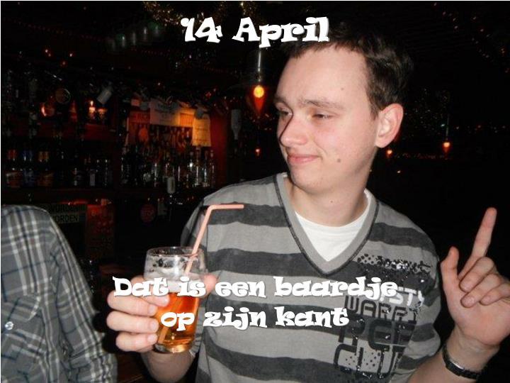 14 April