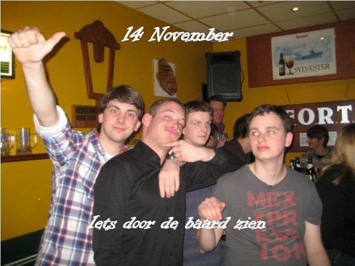 14 November