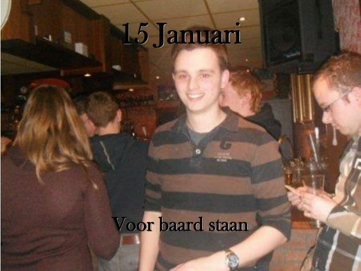 15 Januari