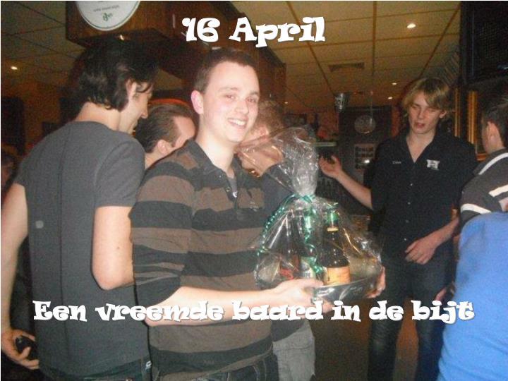 16 April