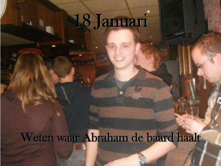 18 Januari