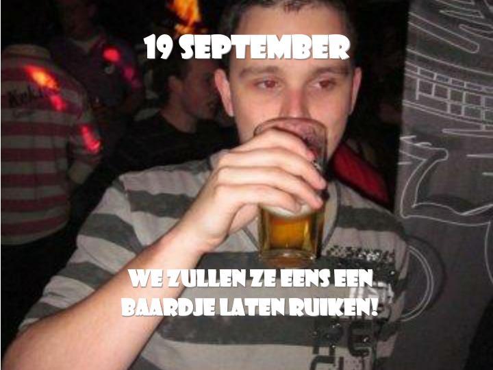 19 September