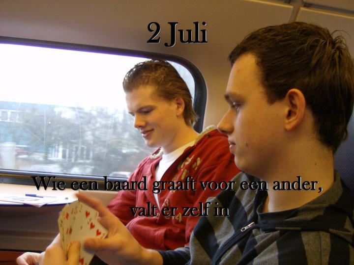 2 Juli