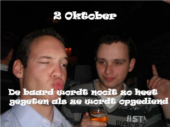 2 Oktober