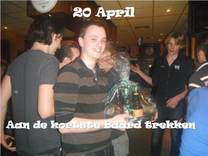 20 April