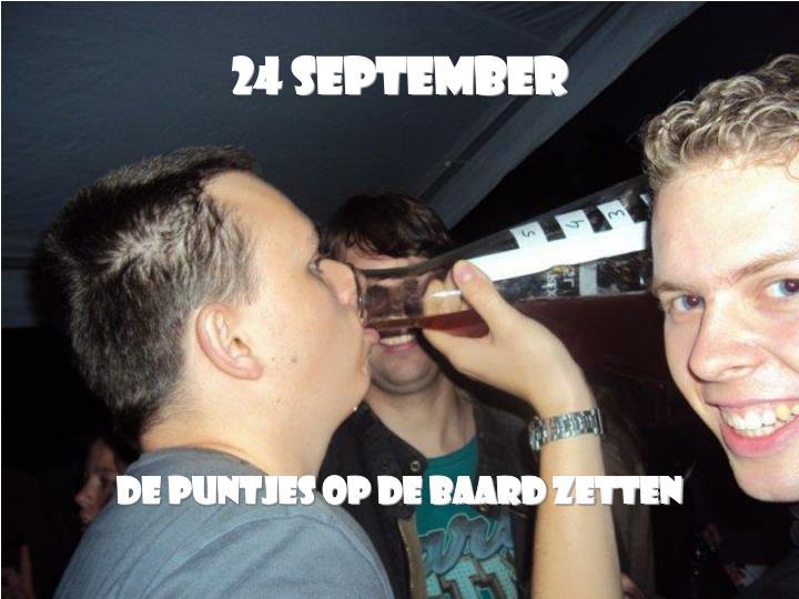 24 September