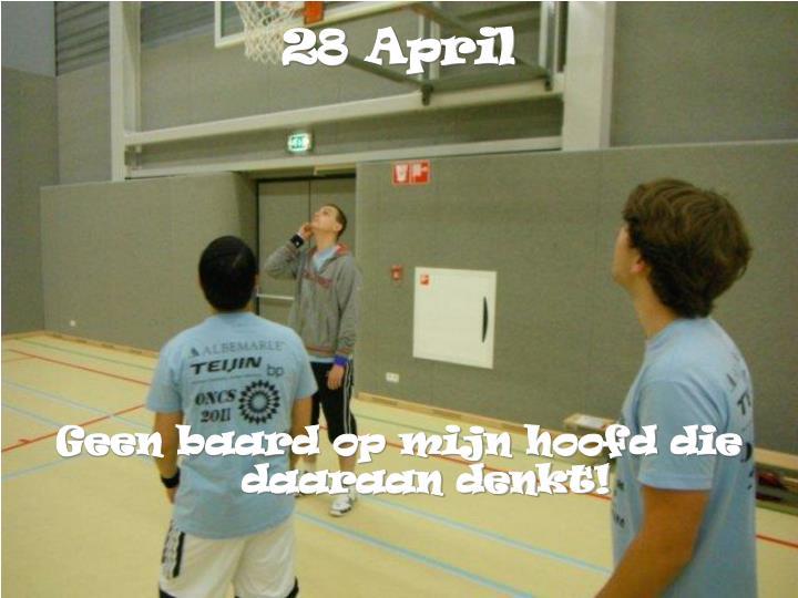 28 April