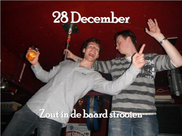 28 December