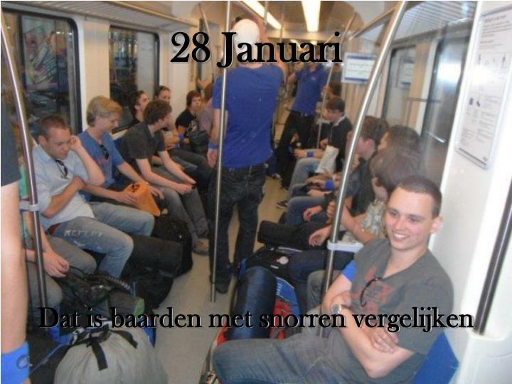 28 Januari