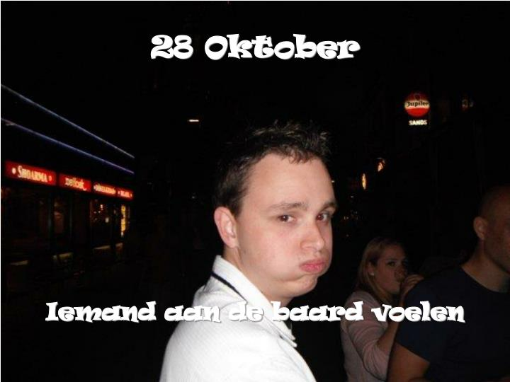 28 Oktober