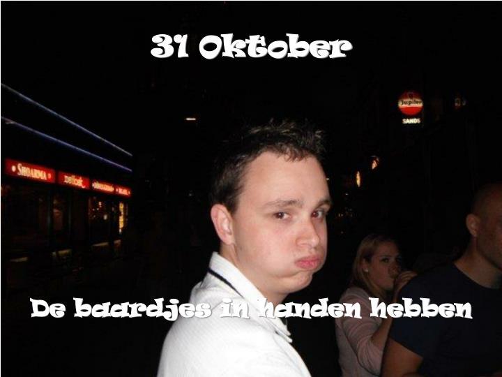 31 Oktober