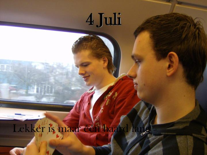 4 Juli