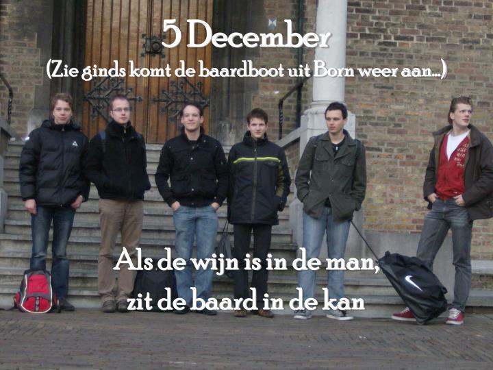 5 December