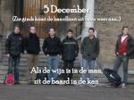 5 december zie ginds komt de baardboot uit born weer aan