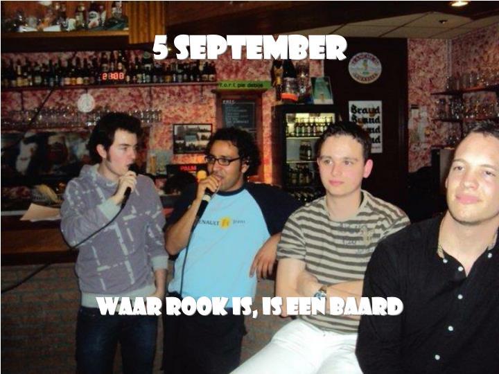 5 September