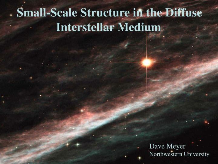 Small-Scale Structure in the Diffuse