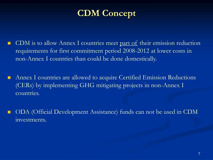 CDM Concept