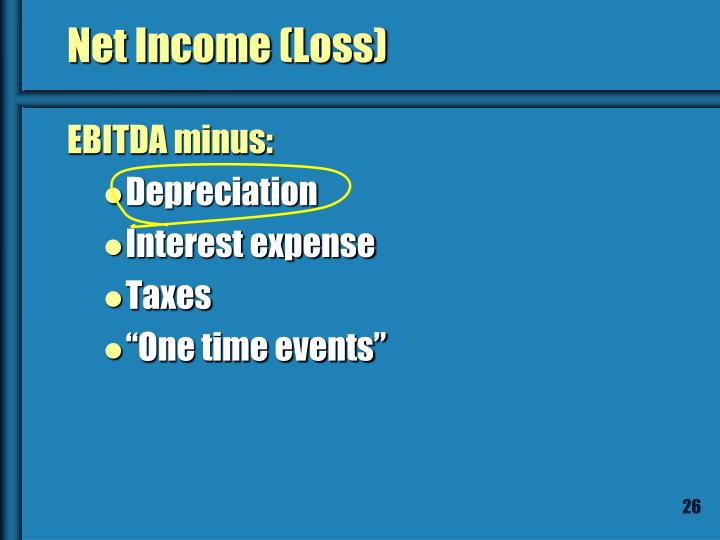 Net Income (Loss)