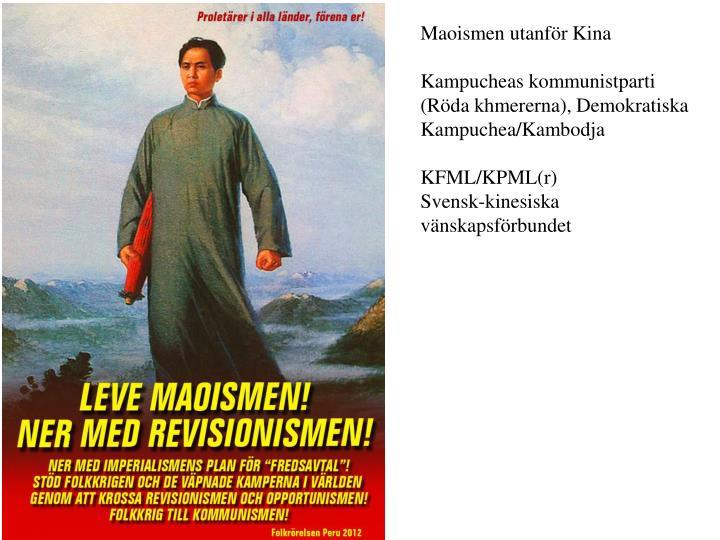 Maoismen utanför Kina