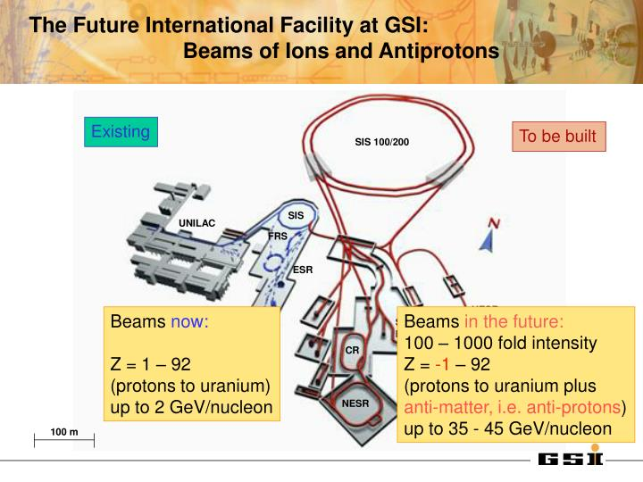 The Future International Facility at GSI: