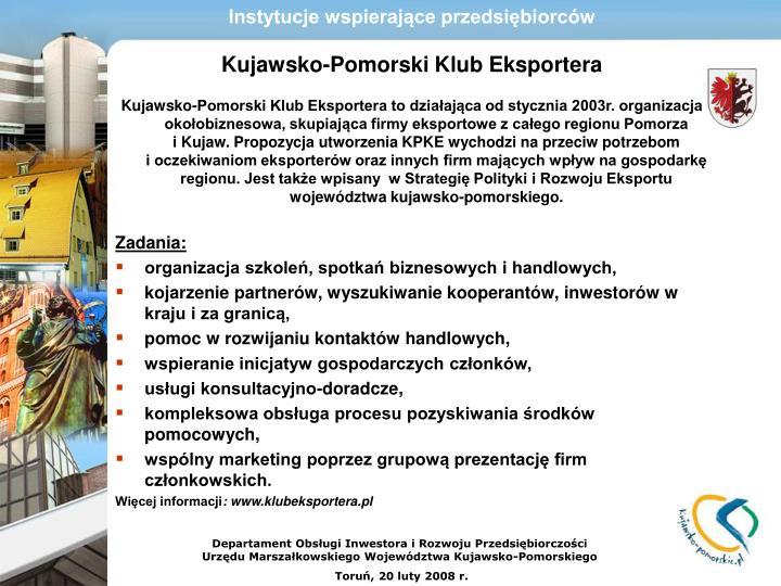 Instytucje wspierające przedsiębiorców