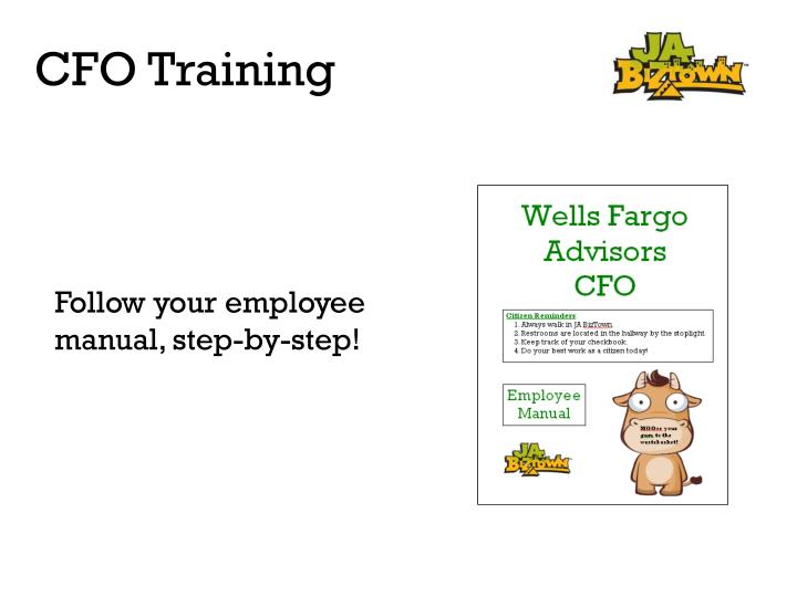 Follow your employee manual, step-by-step!