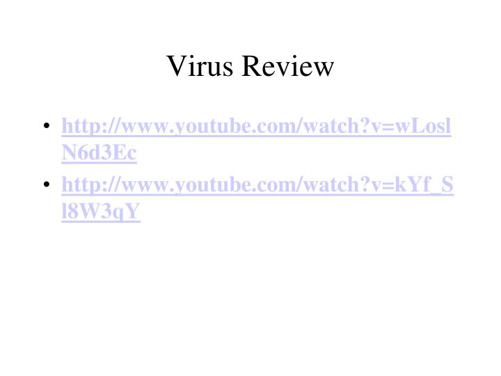 Virus Review